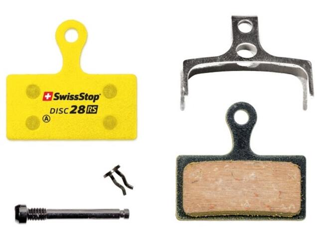 SwissStop Disc 28 RS Remblokken Shimano XTR/SLX/Deore/Alfine/FSA K-Force/Afterburner/Rever